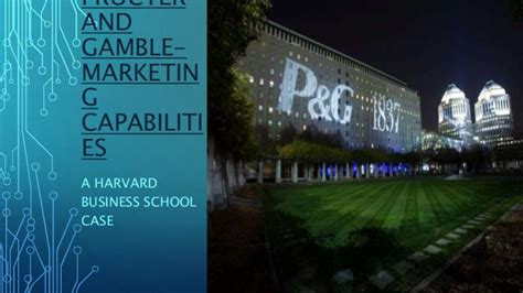 Procter And Gamble Mba Schools by Procter And Gamble Hbs Study
