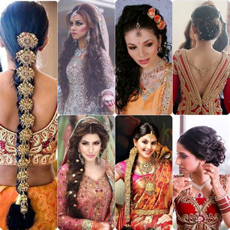 Hairstyles For Brides by Best Hairstyles For Indian Wedding Brides Stylo Planet