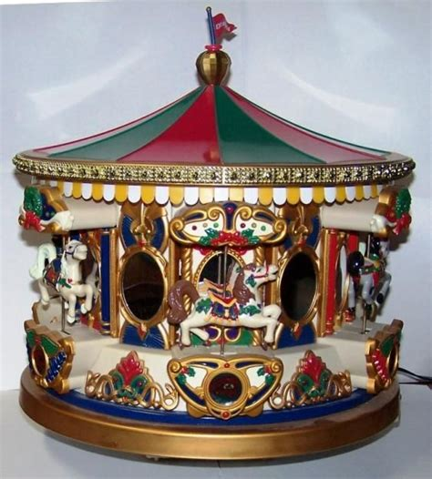 christmas carousel music box christmas everyday