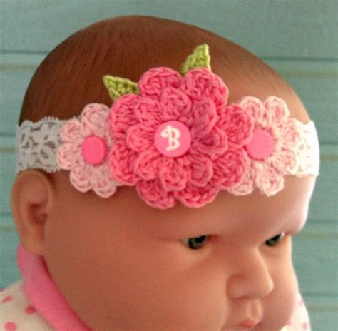 baby headband baby headbands baby from magaro baby headband photo prop crochet baby headband by