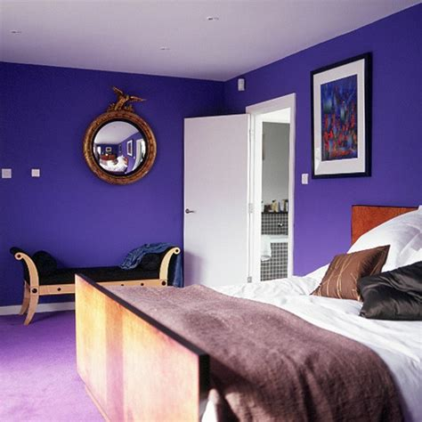 purple walls in bedroom deep purple bedroom home ideas 2016