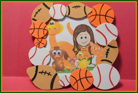 sport crafts for sports crafts for baseball basketball football