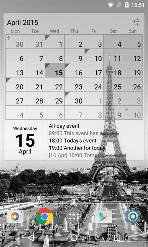 Calendar Widget Calendar Widget Indir Android I 231 In Takvim Uygulaması