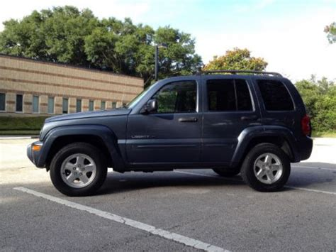 2002 Jeep Liberty Towing Capacity Buy Used 2002 Jeep Liberty Limited In 1931 High St