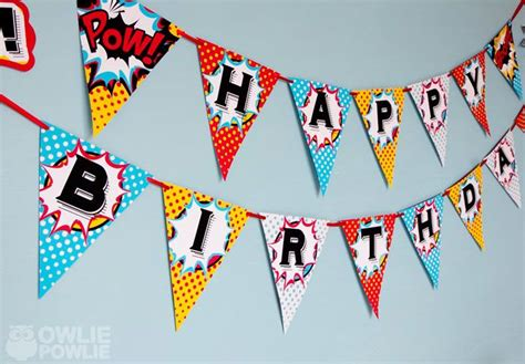 printable birthday banner with name 17 best images about superhero party on pinterest