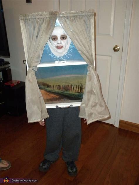 baseball ball  window halloween costume