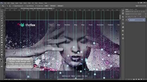 grid2 layout download photoshop tutorial how to make 1175px grid system with