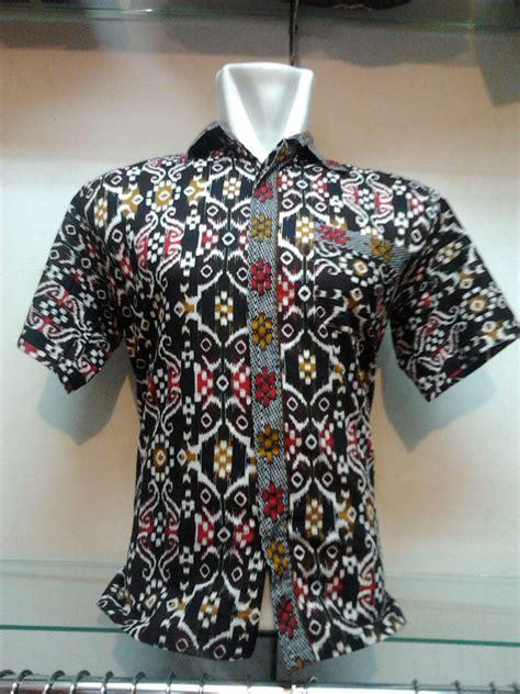 Baju Kemeja Pendek Motif Batik Cowok Pria Laki Laki 4 jual hem batik pria kemeja batik lengan pendek motif dayak ar rahman store