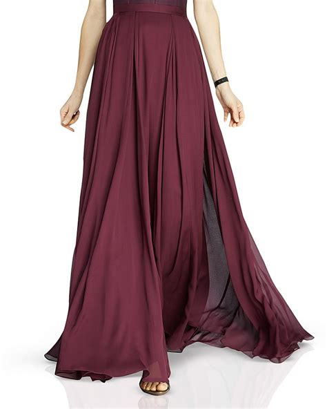flowing georgette maxi skirt shopstyle