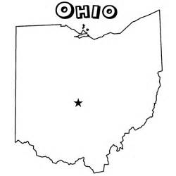Ohio S State Flower - ohio state coloring pages coloring home