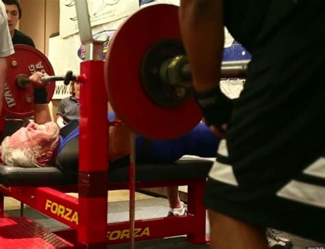14 year old bench press record sy perlis 91 year old weightlifter from arizona breaks bench press record video