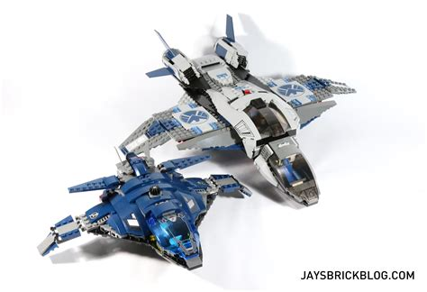 Lego Ori The Quinjet City review lego 76051 airport battle