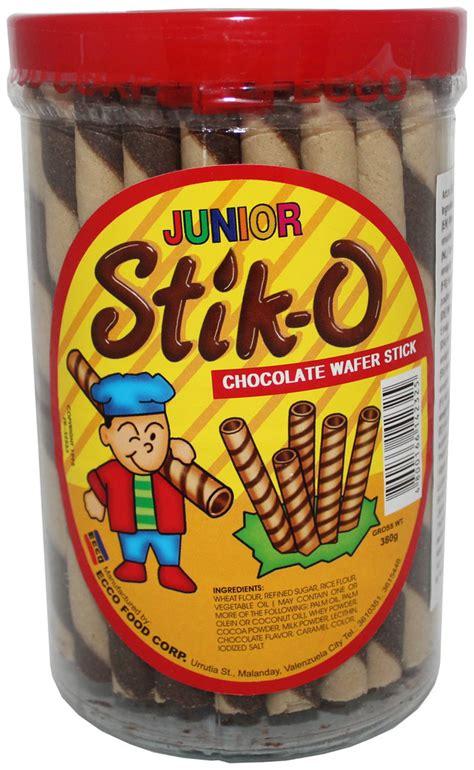 Stick Es Stik Es junior stik o chocolate wafer stick 380 g phil food
