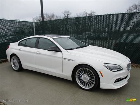 Bmw Alpine White by 2016 Alpine White Bmw 6 Series Alpina B6 Xdrive Gran Coupe