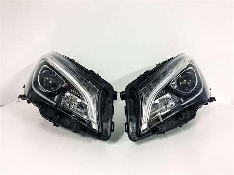 mercedes led headlights mercedes benz cla class w117 facelift full led headlights