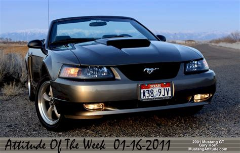 mustang gt 01 mineral gray 2001 ford mustang gt convertible