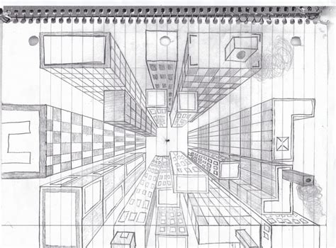 bird s eye view sketch of indoor outdoor house interior design ideas lesson and video on one point perspective art ideas