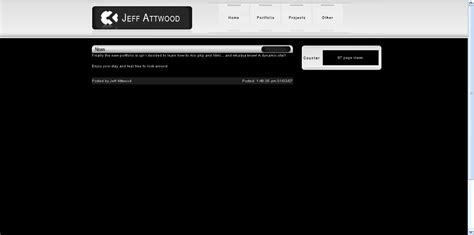 Basic Portfolio Template By Jeffro11 On Deviantart Basic Portfolio Template