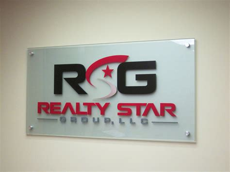 Acrylic Sign acrylic signage company frosted painted and clear