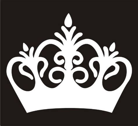 Crown Princess Crown Car Window Decal Tablet PC by SKSupply