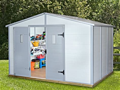 abri de jardin garage abri de jardin m 233 tal bois ou pvc d 233 couvrez le choix trigano