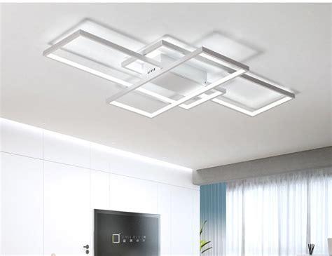 modern ceiling light fixture rectangular modern led ceiling light blocks modern place