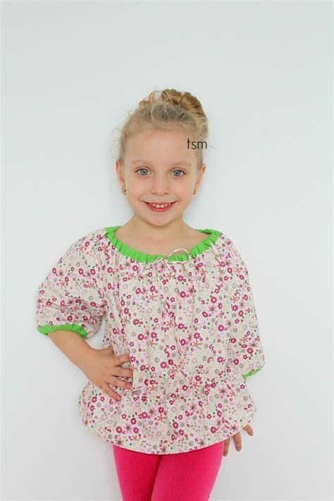 peasant shirt pattern girl free childrens peasant top pattern