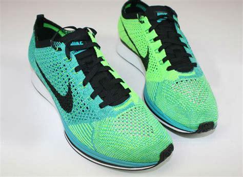 Nike Flyknit Racer Green Neon nike flyknit racer turquoise green butologia