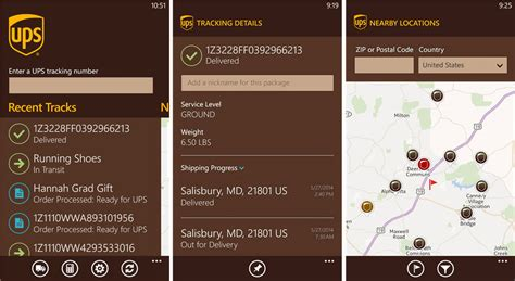 ups tracking mobile ups mobile launches its windows phone app windows central
