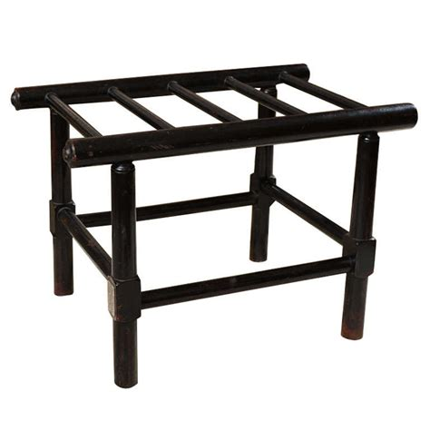luggage bench antique luggage stand bench table at 1stdibs