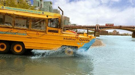 duck boat tours website london duck tours river tour visitlondon