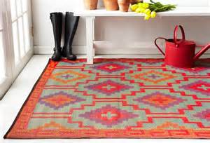 Plastic Outdoor Rugs by Lhasa Orange And Violet Indoor And Outdoor Plastic