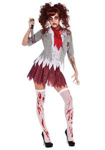 halloween costumes girls zombie costume