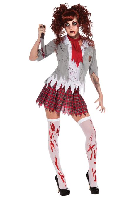 zombie costume how to make a zombie costume with makeup zombie school girl costume