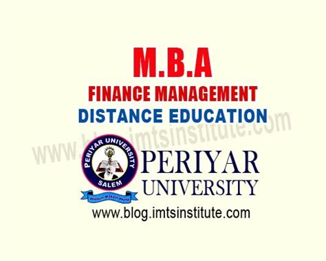 Opportunities In Dubai For Mba Finance by Mba Finance Management Distance Learning Periyar