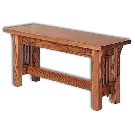 mission dining bench straight mission bench amish dining room furniture