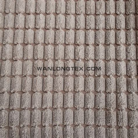 curtain backing fabric 100 polyester checked cut velvet corduroy upholstery