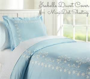 Brushed Cotton Duvet Set Light Blue Bedding Native Home Garden Design