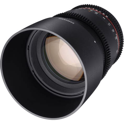 Samyang Lens 85mm T15 Vdslr Mk Ii For Sony Nex samyang 85mm t1 5 vdslr mk ii cine lens micro four thirds