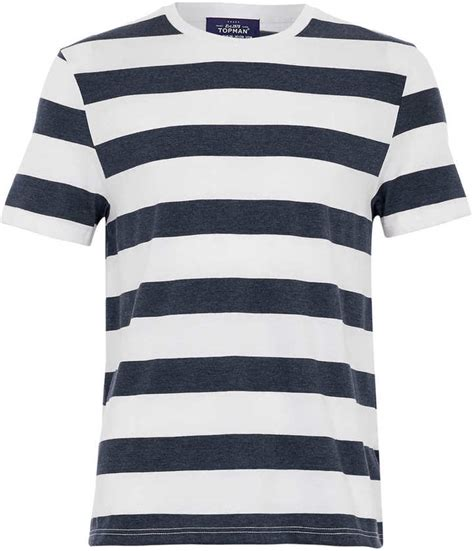 Koas Stripe Navy And White Unisex striped blue and white shirt custom shirt
