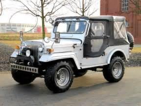 Mitsubishi Jeep Mitsubishi Jeep J53 Willys 2 7 Diesel 4x4 Soft Top On