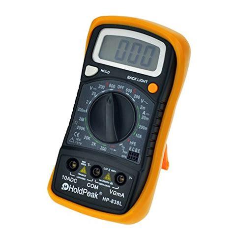 fluke diode test digital meter multimeter ohm voltmeter tester fluke with hfe test and diode