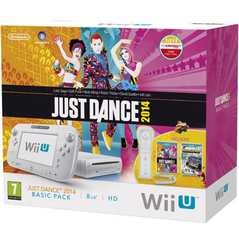 new wii console 2014 wii u console 8gb basic pack bundle white includes