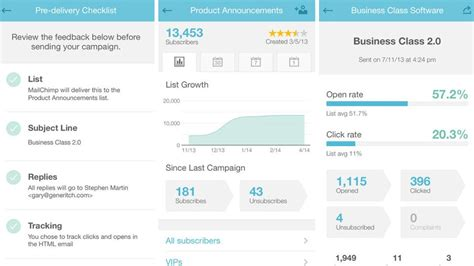 mailchimp mobile app top 10 business apps for iphone daily dappr