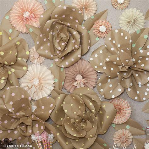 pattern giant flower kraft paper jumbo roses