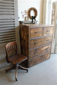 How To Make A Coffee Table Out Of Pallets Rustic Multiple Drawers Pallet Dresser Pallet Furniture Diy