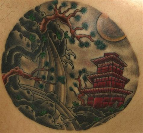 japanese landscape tattoo designs japanese landscape tattooimages biz