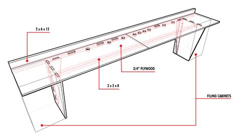 typical bench depth design for a simple workbench images frompo
