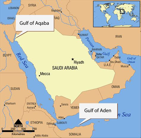 middle east map sea noaa news story 2672