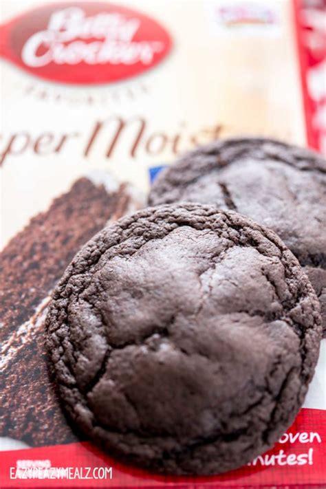 Chocolate Cake Mix betty crocker cake mix cookies